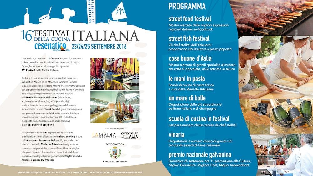 16° festival della cucina italiana - eventi - la madia travelfood - Migliore Cucina Italiana