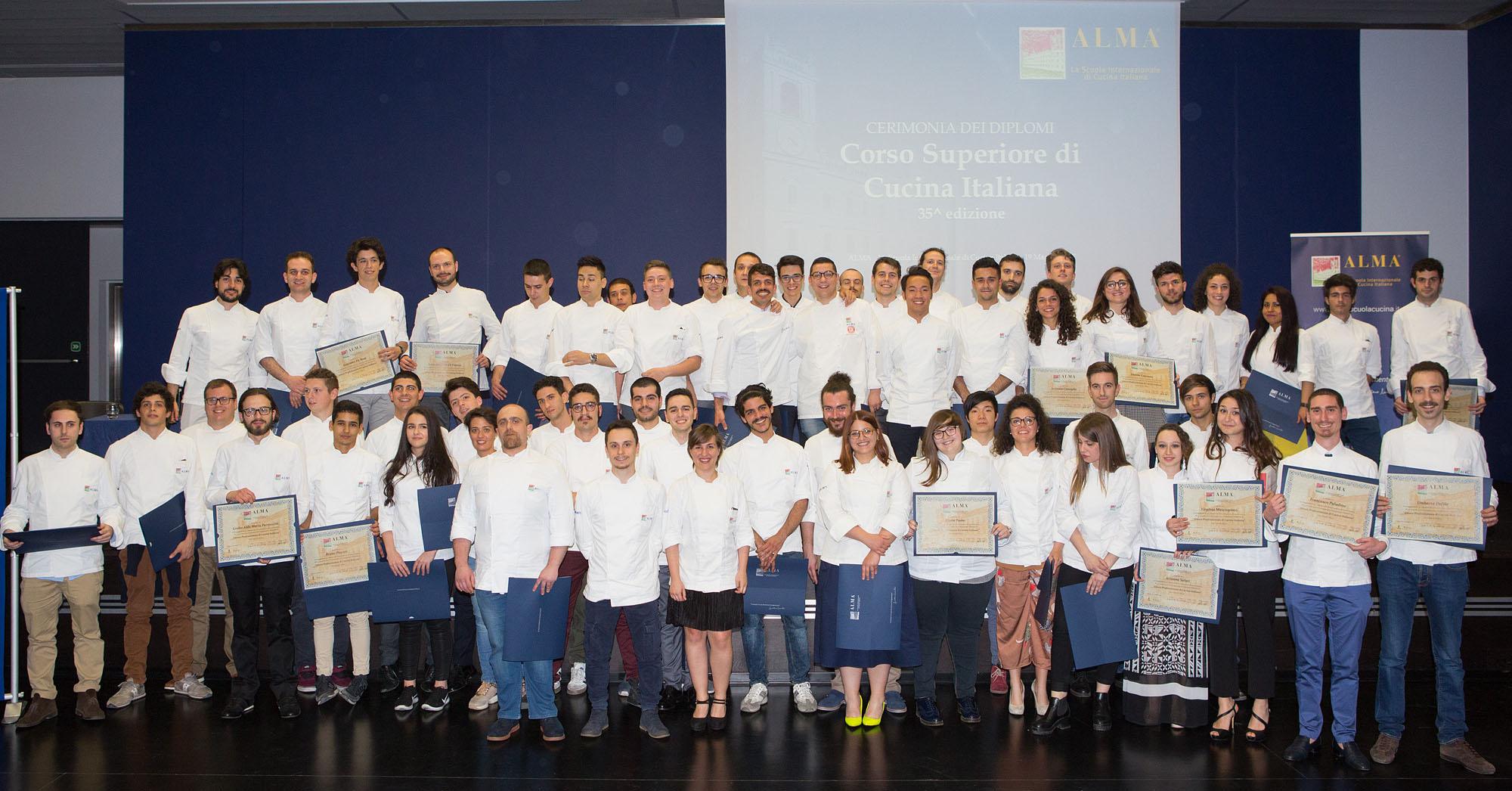 Alma xxxv edizione del corso superiore di cucina italiana - Alma scuola cucina ...