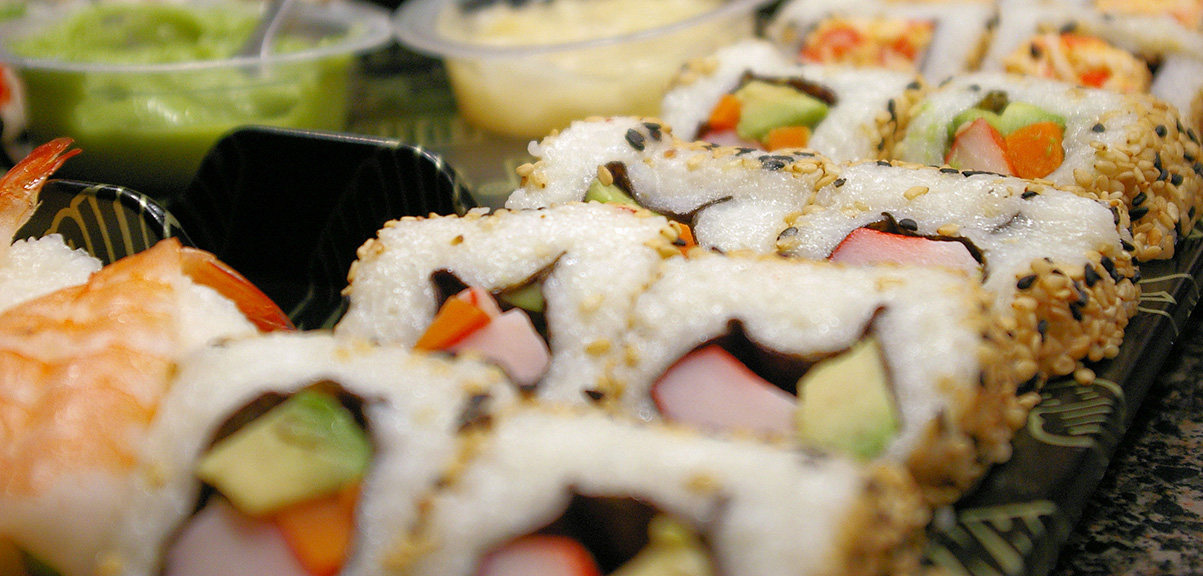 how to eat healthy at all you can eat sushi
