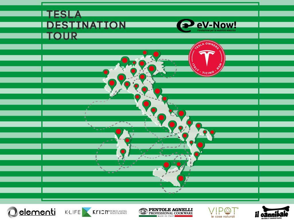 Tesla Destination Tour: alla scoperta della rete italiana dei Destination Charging