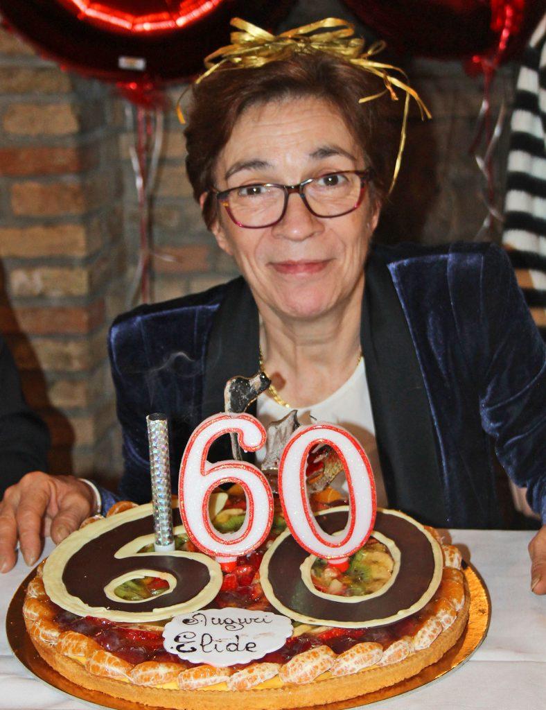 Elide Pastrani: i suoi 60 anni