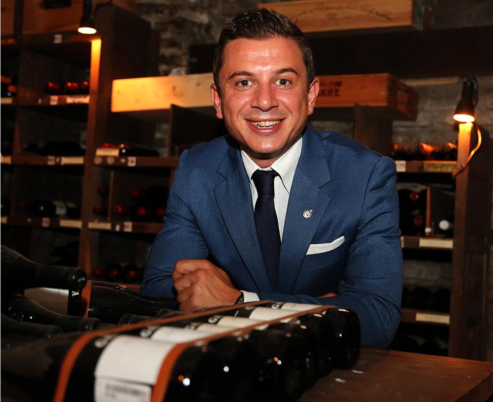 Sommelier Francesco Cioria