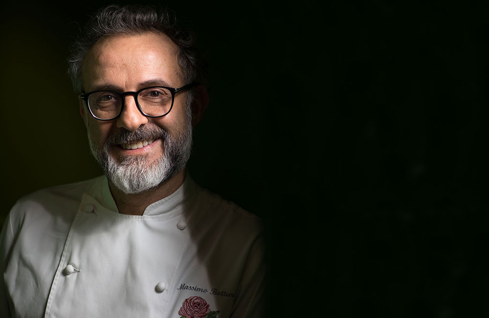 Massimo Bottura Basque Culinary World Prize