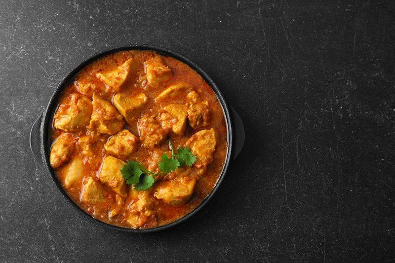 Pollo al curry cucina spagnola