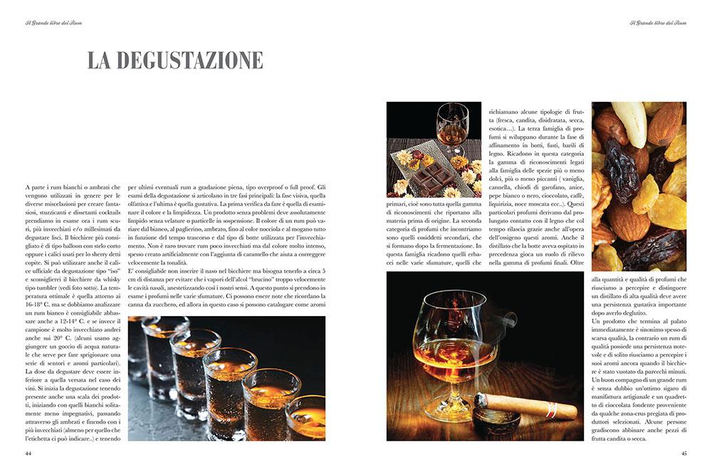 il grande libro dei rum- la degustazione