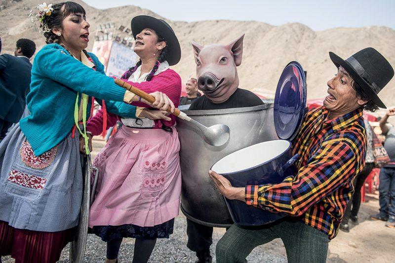 Evento gastronomico Mistura in Perù