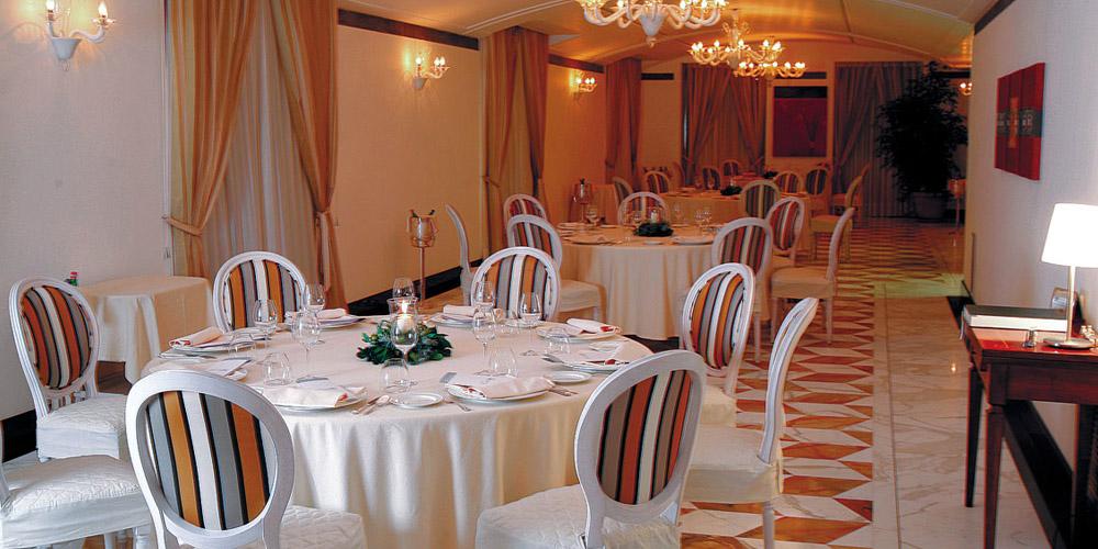 L'impronta decisa di Deleo al ristorante l'Accanto dell'Hotel Angiolieri a Seiano