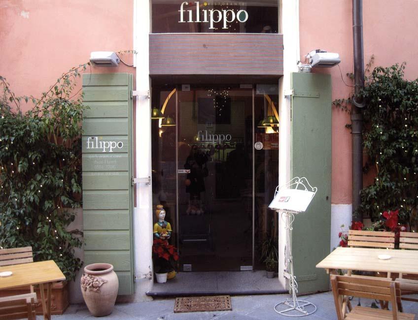 Misurata tradizione nel ristorante FILIPPO a Pietrasanta