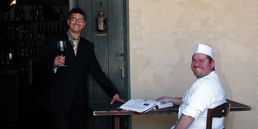 A bagnacavallo piazza nuova osteria tradizionale golavagando la madia travelfood - Osteria con cucina francesco angelini ...
