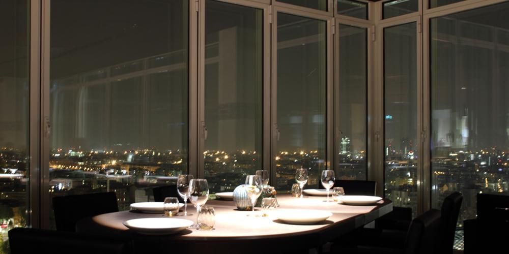 Unico il ristorante che corre incontro al cielo