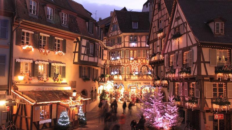 Marché de Noël, Alsace