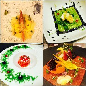 Alcuni quadri dello chef Luigi Cacciapuoti