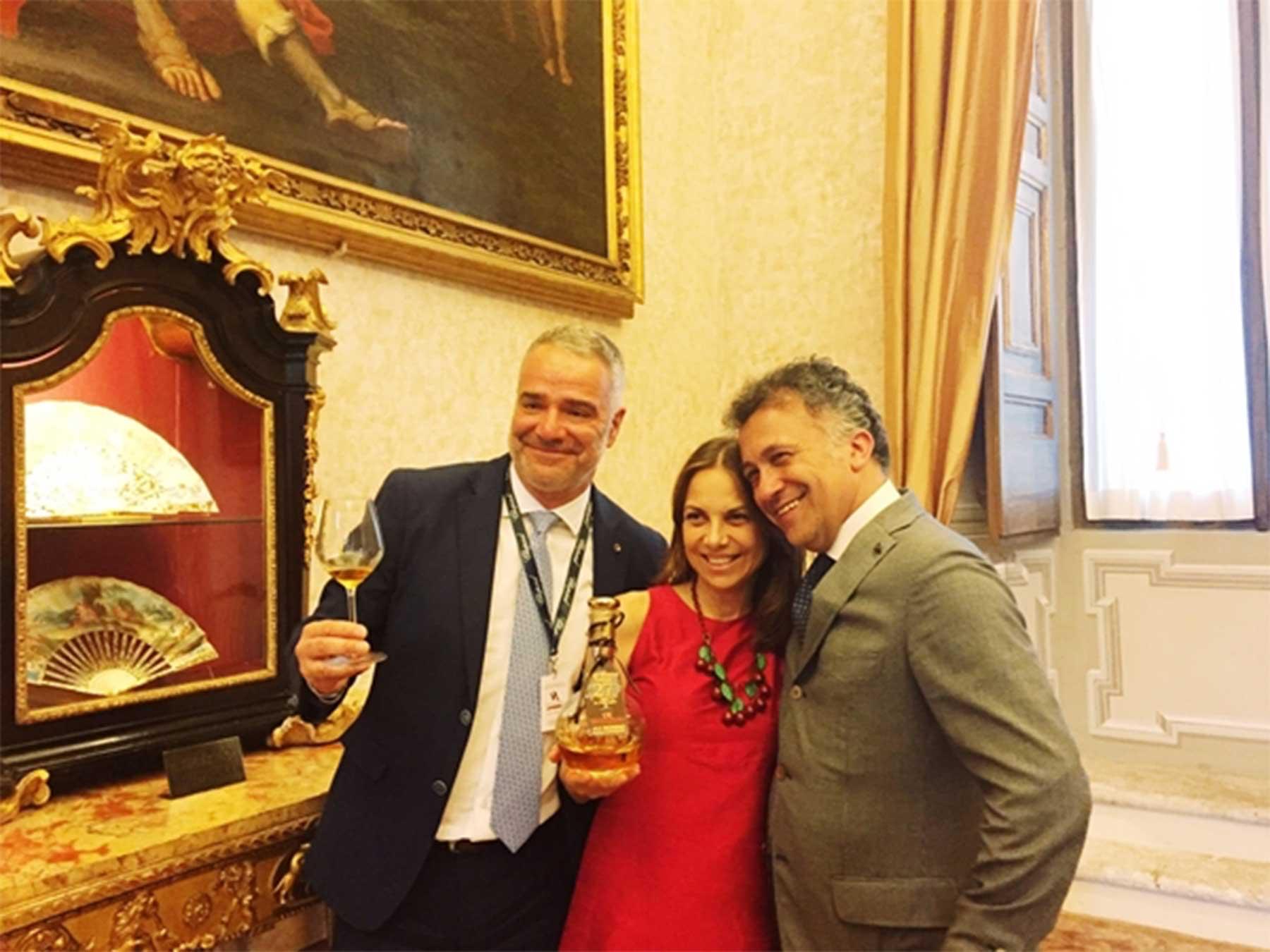 Paolo Lauciani, Cristina Nonino e Massimo Billetto