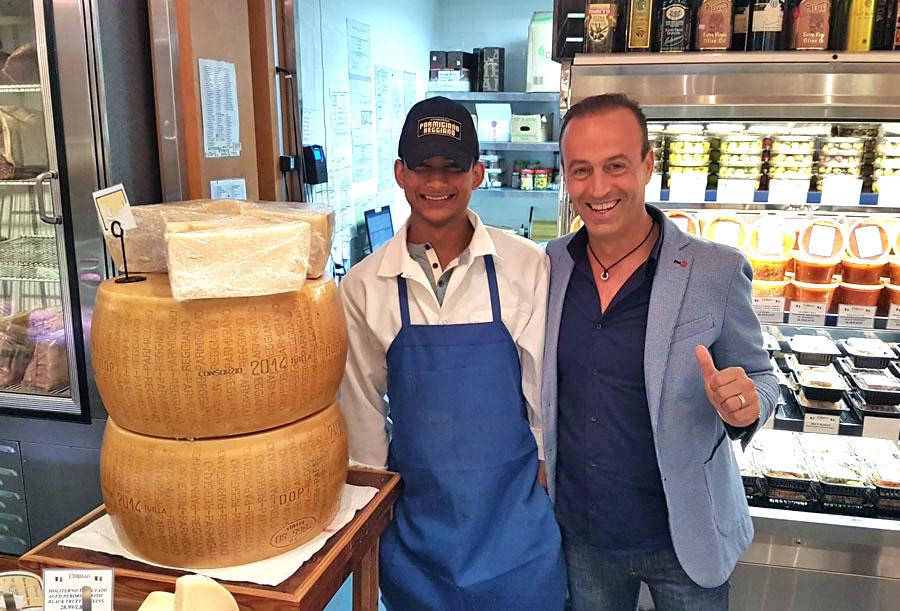 Parmigiano Reggiano all'attacco negli USA