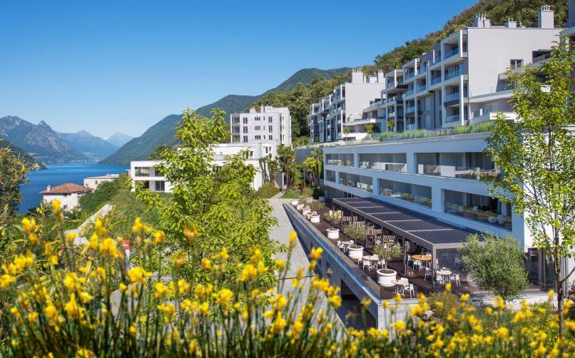 The View Lugano: inaugura la terrazza TreCinqueZero
