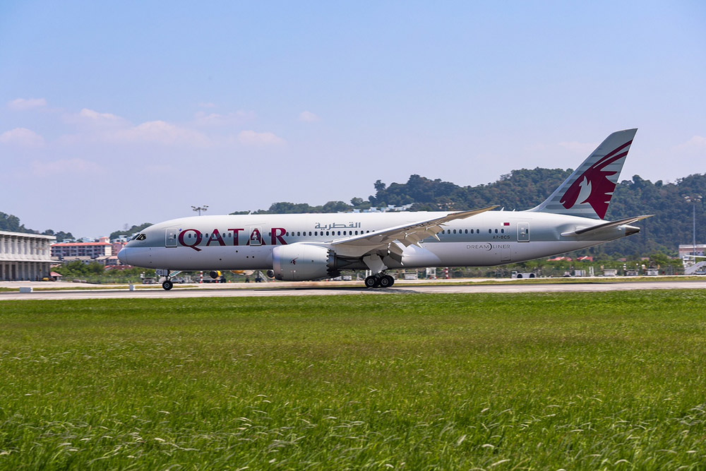 Qatar Airways volo Penang
