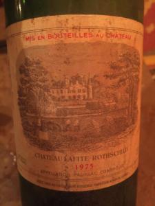 vino Chateau Lafite Rothschild 1975: