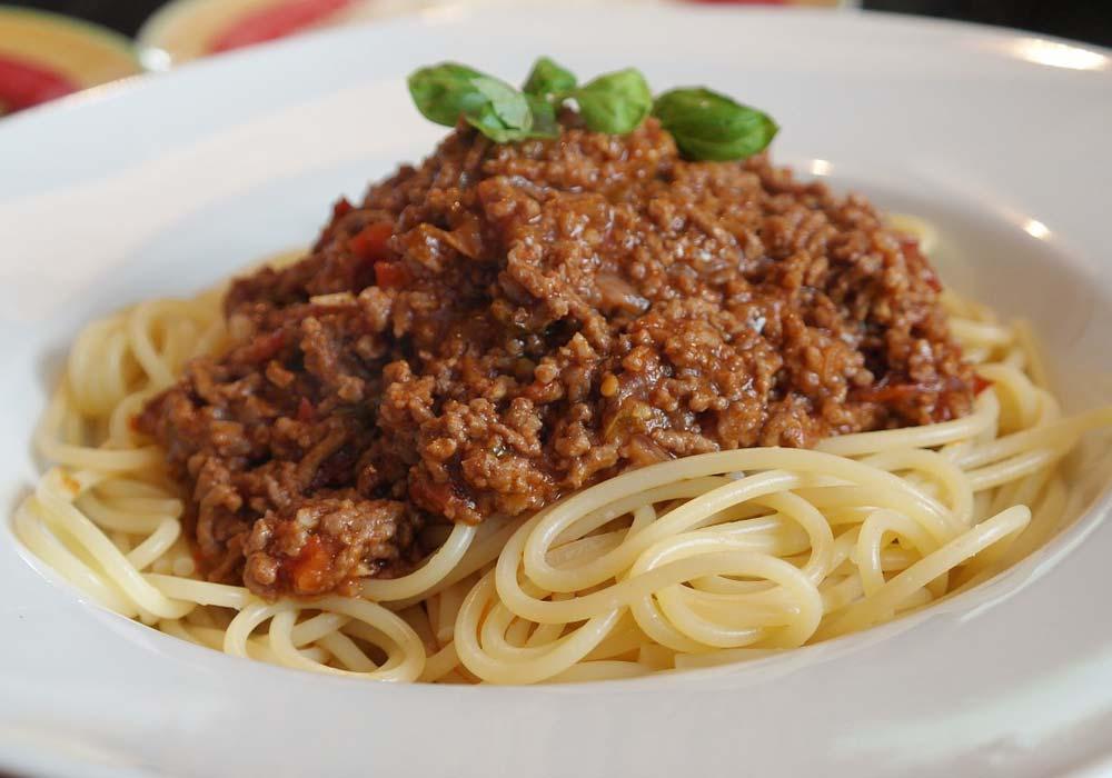 Gli spaghetti alla bolognese