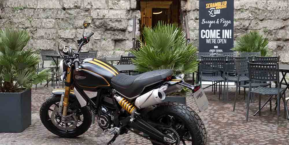 Scrambler Ducati Food Factory