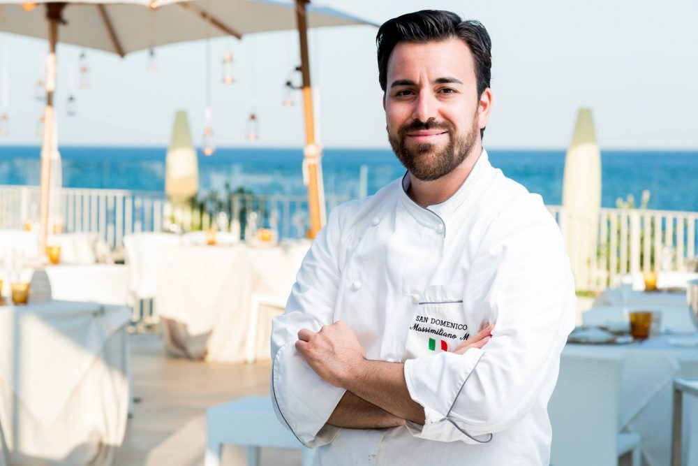 Chef Massimiliano Mascia in Sardegna