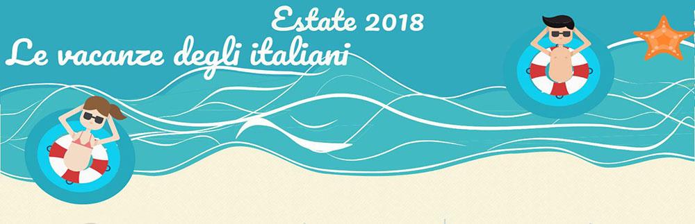 Estate 2018 Italiani in vacanza