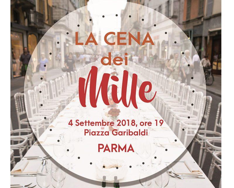 La cena dei mille a Parma