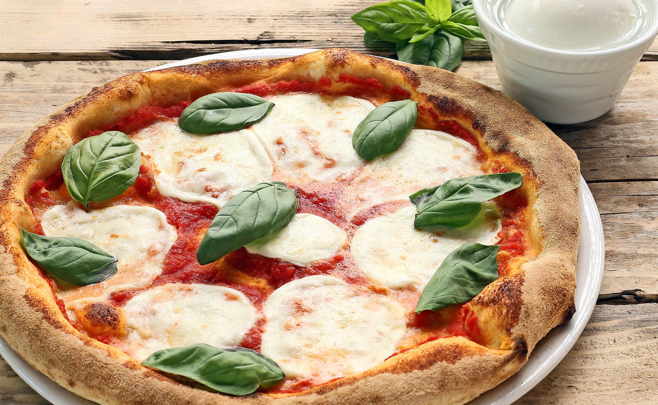 La pizza di Rossini a Pesaro