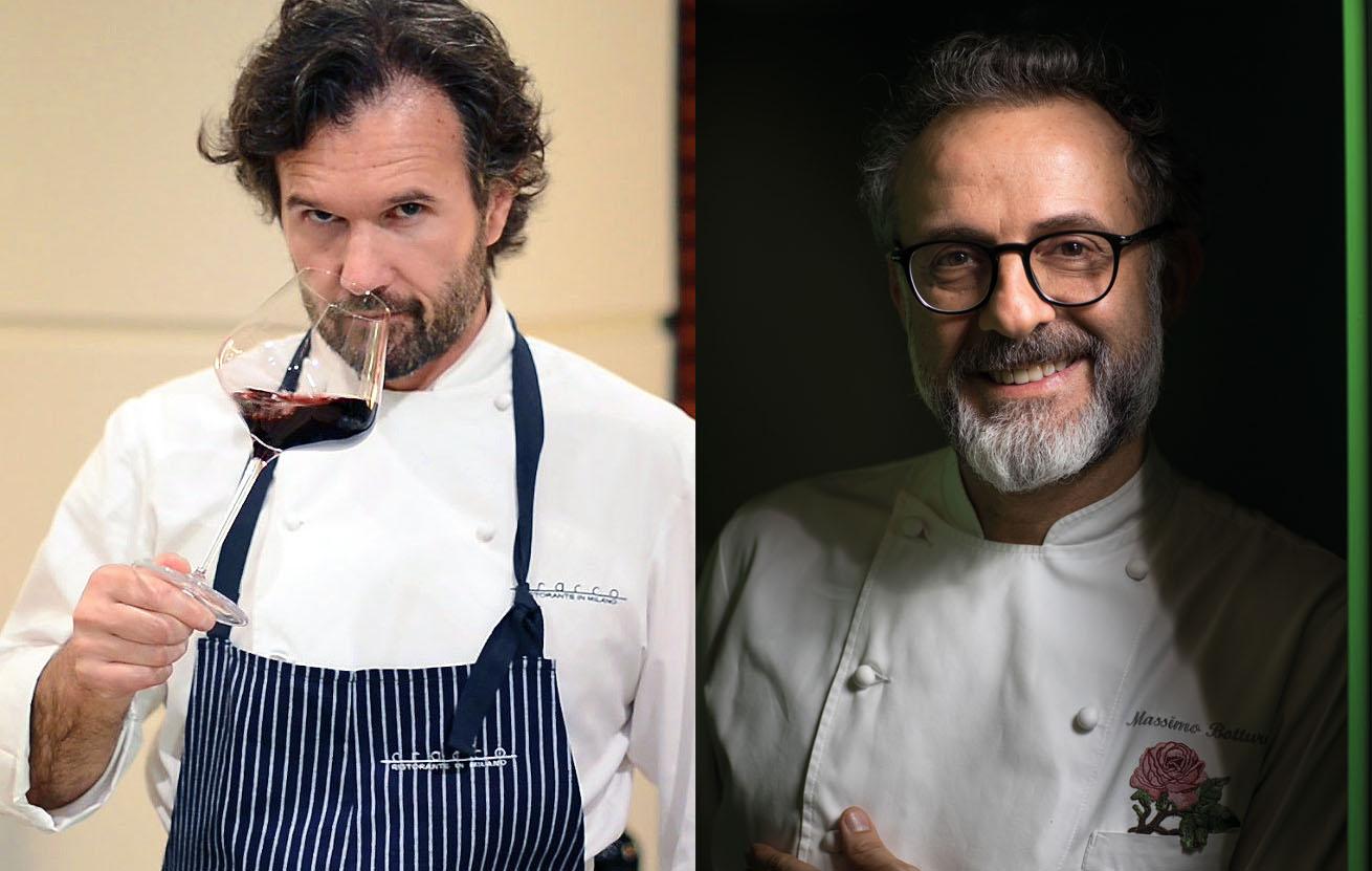 Cracco e Bottura gli chef più citati sui media italiani