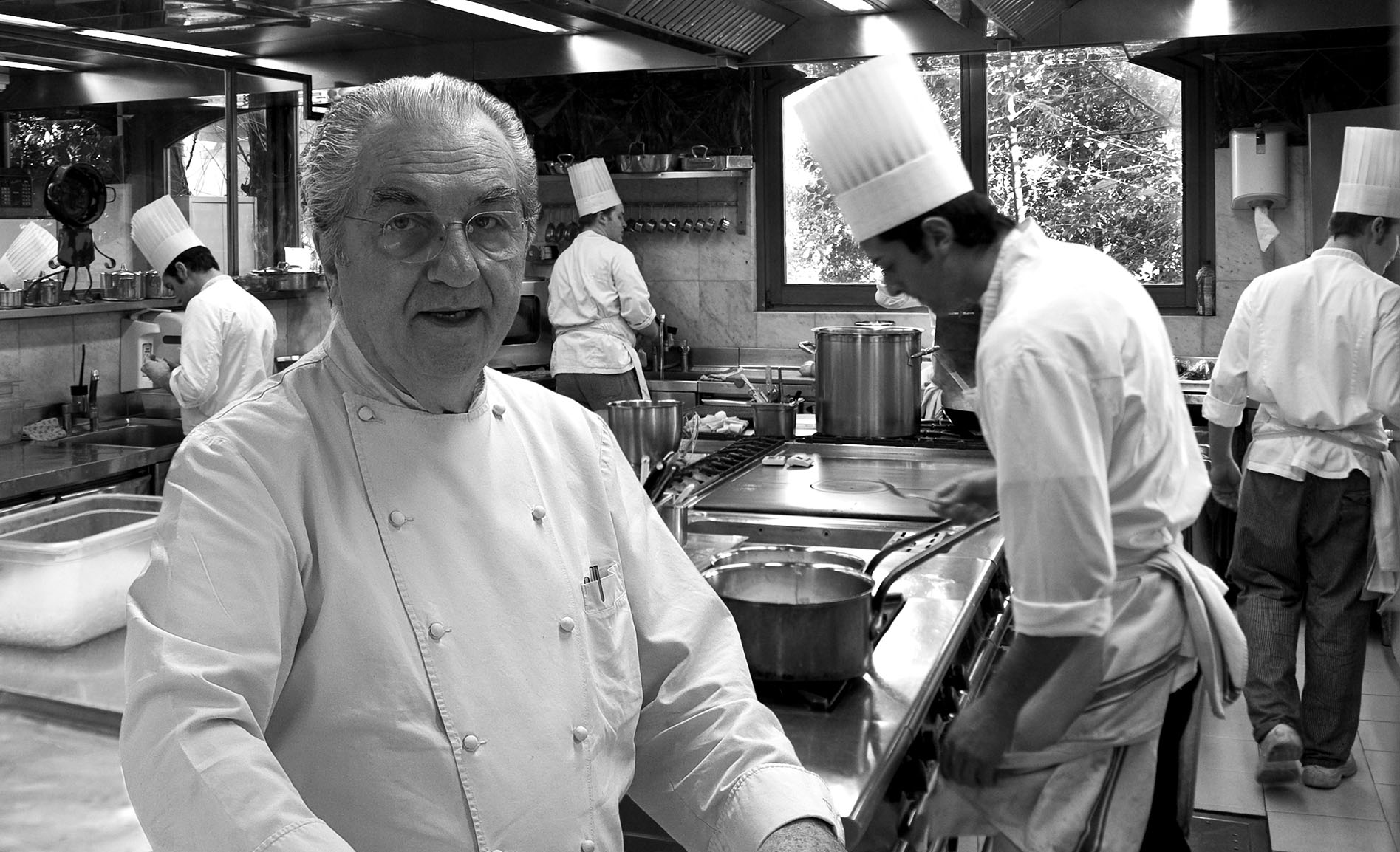 Gualtiero Marchesi e La Grande Cucina Italiana World Tour