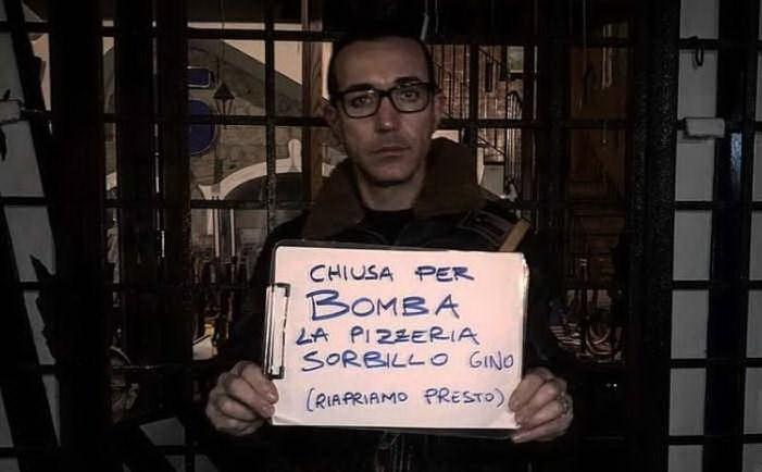 Gino Sorbillo chiuso per bomba