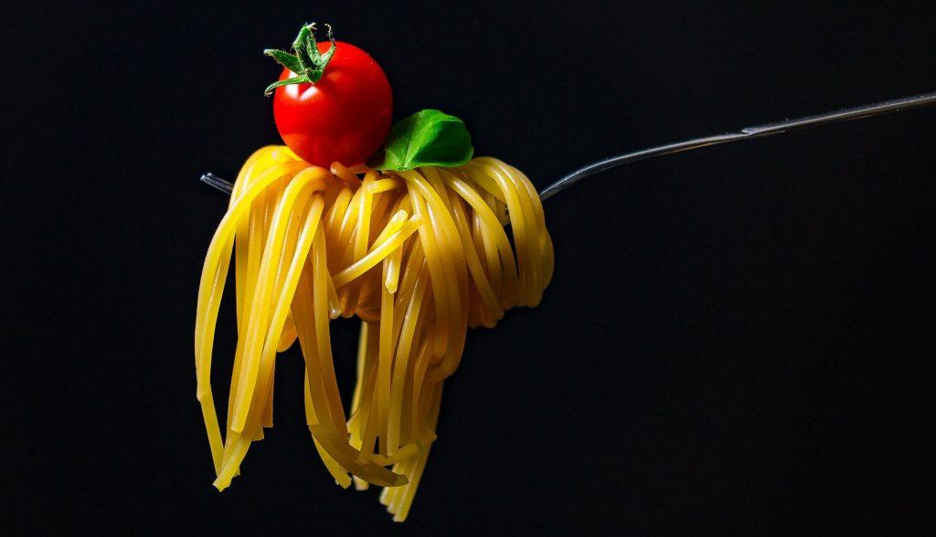 spaghetti e penne made in Italy