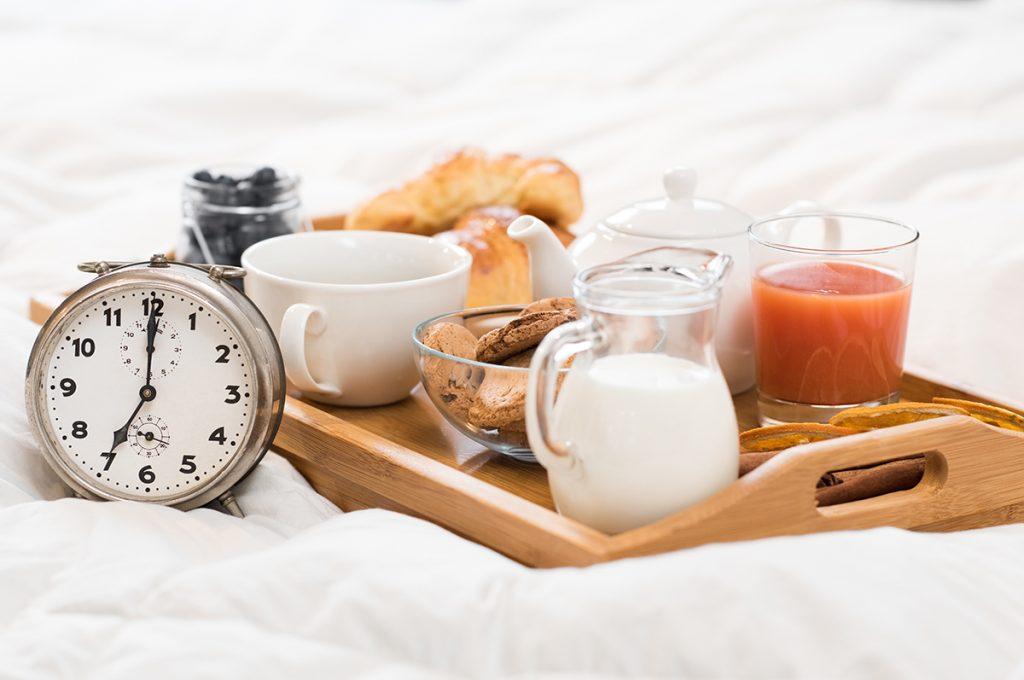 colazione lenta per il benessere di corpo e mente