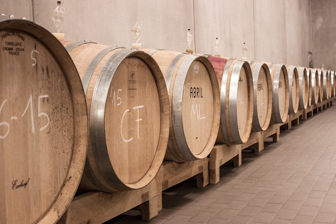 vino buono in botti piccole e grandi