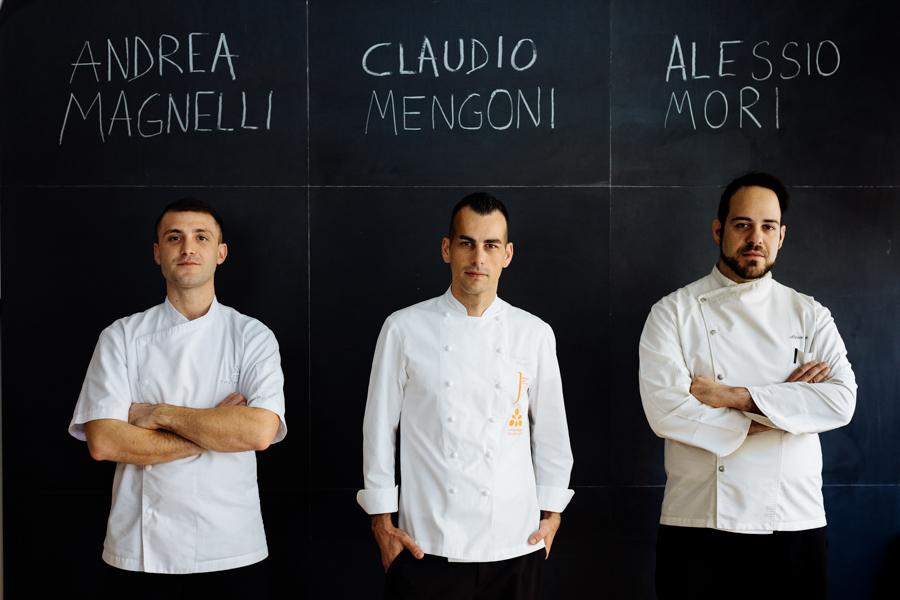 Lungarno Collection e tre giovani chef toscani