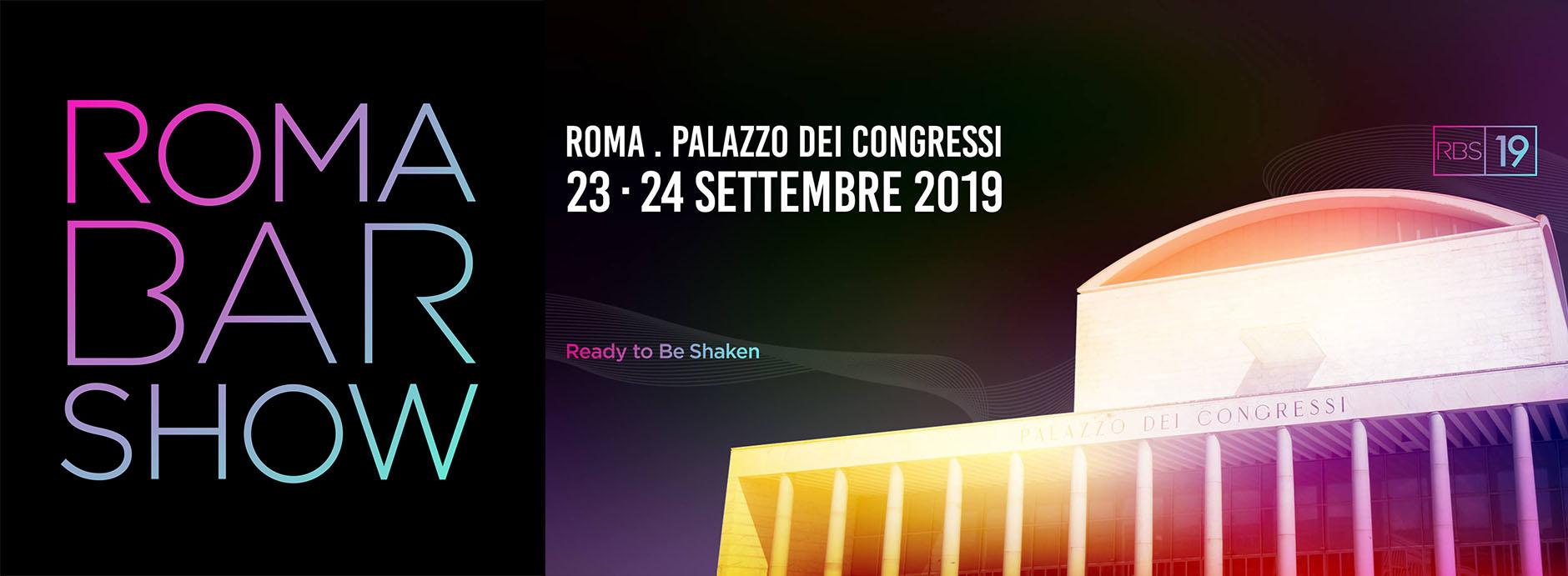 Roma Bar Show: 23/24 settembre