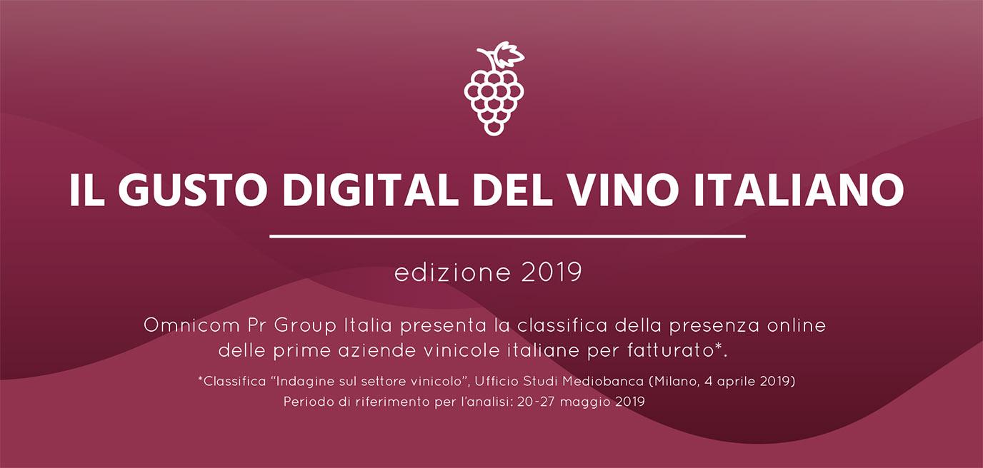 Il gusto digitale del vino 2019