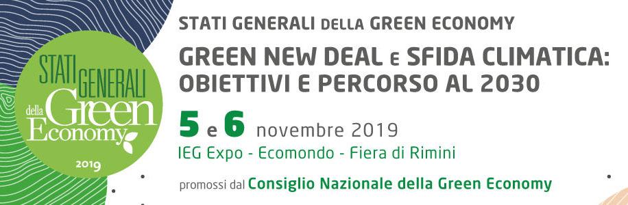 Stati Generali della Green Economy 2019