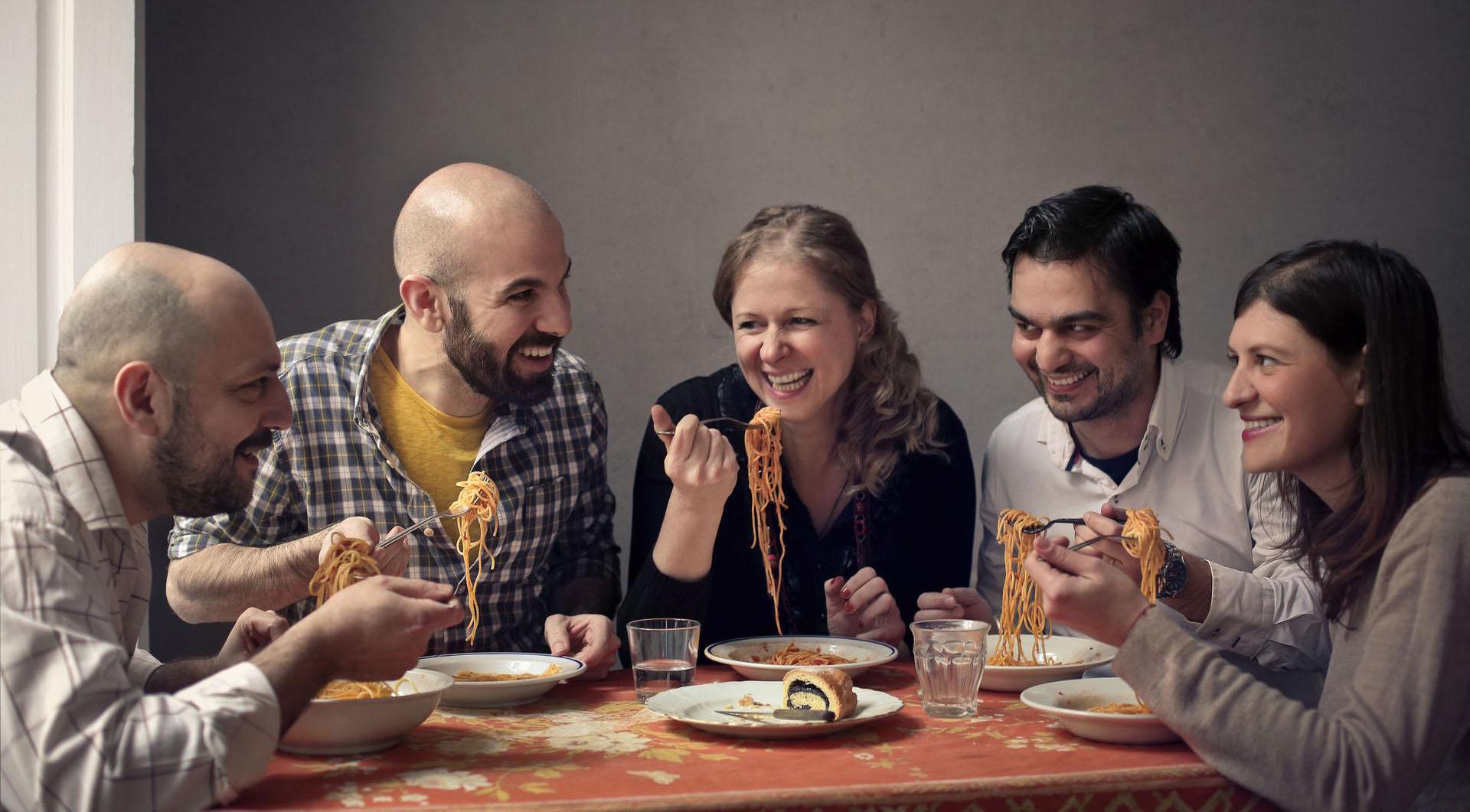 Italiani pasta lovers
