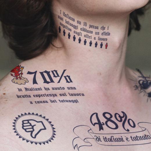 tattooTatuaggi sul posto di lavoro