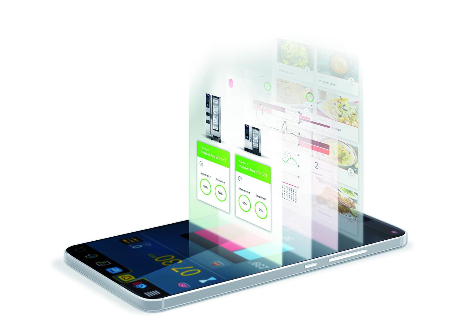 RATIONAL-ConnectedCooking-Data-Smartphone