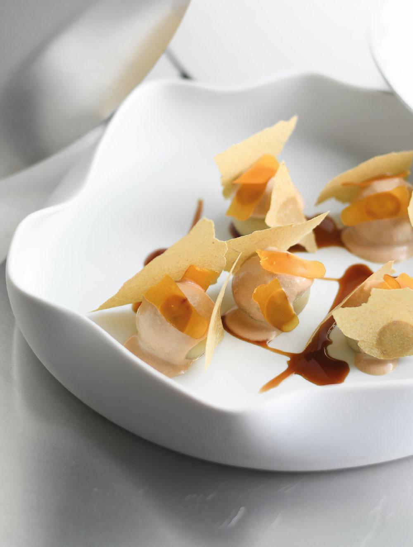 Gnocchi cremosi di carciofi di chef Filippo Cammarata