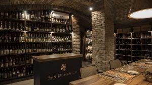 Cantina del ristorante San Domenico, Imola