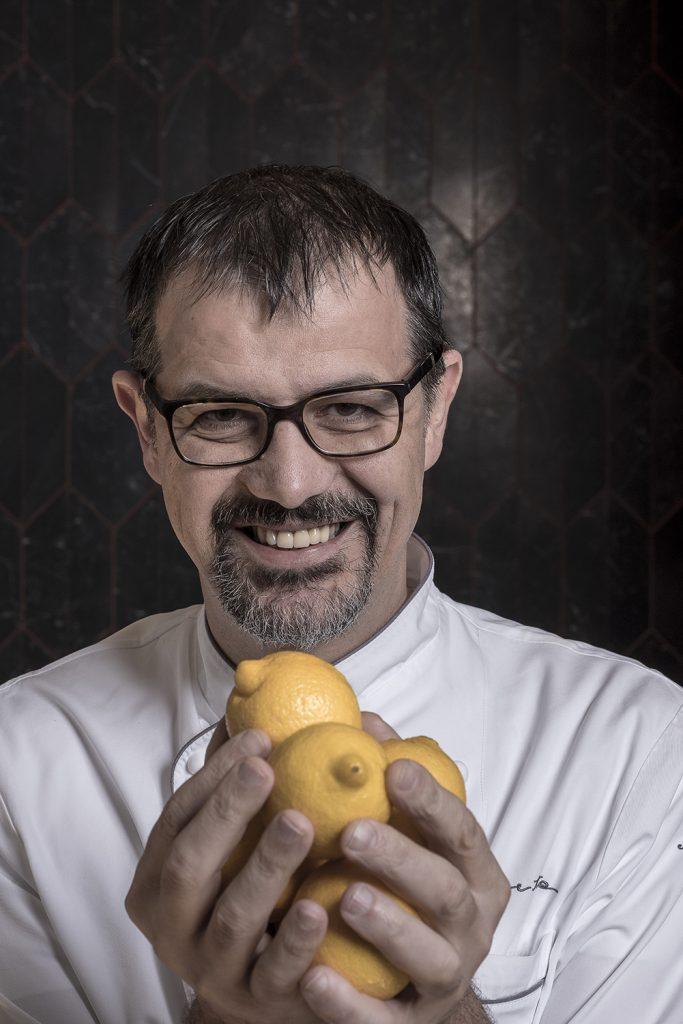 Chef Antonio Guida del ristorante Seta a Milano