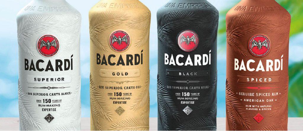 Packaging Bottiglie Bacardi