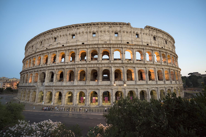 Apre a Roma The Student Hotel. Nella foto: il colosseo