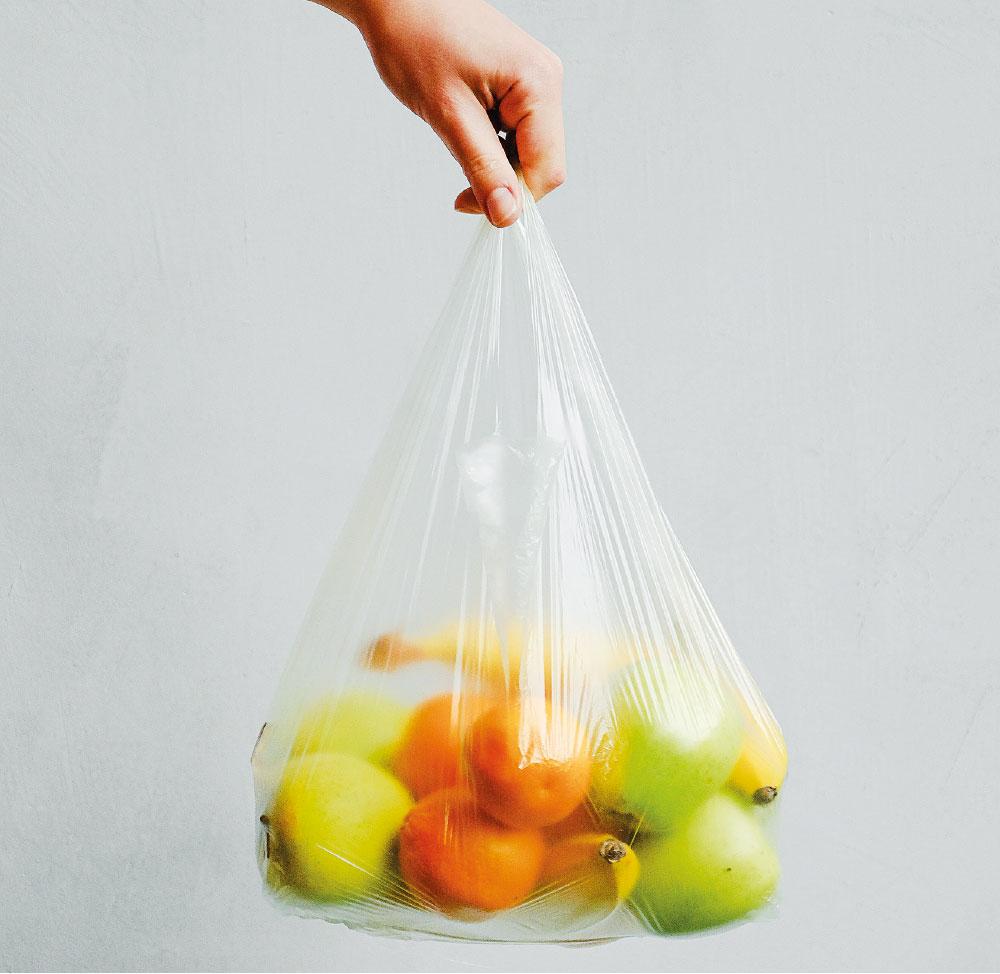 Frutta nel sacchetto