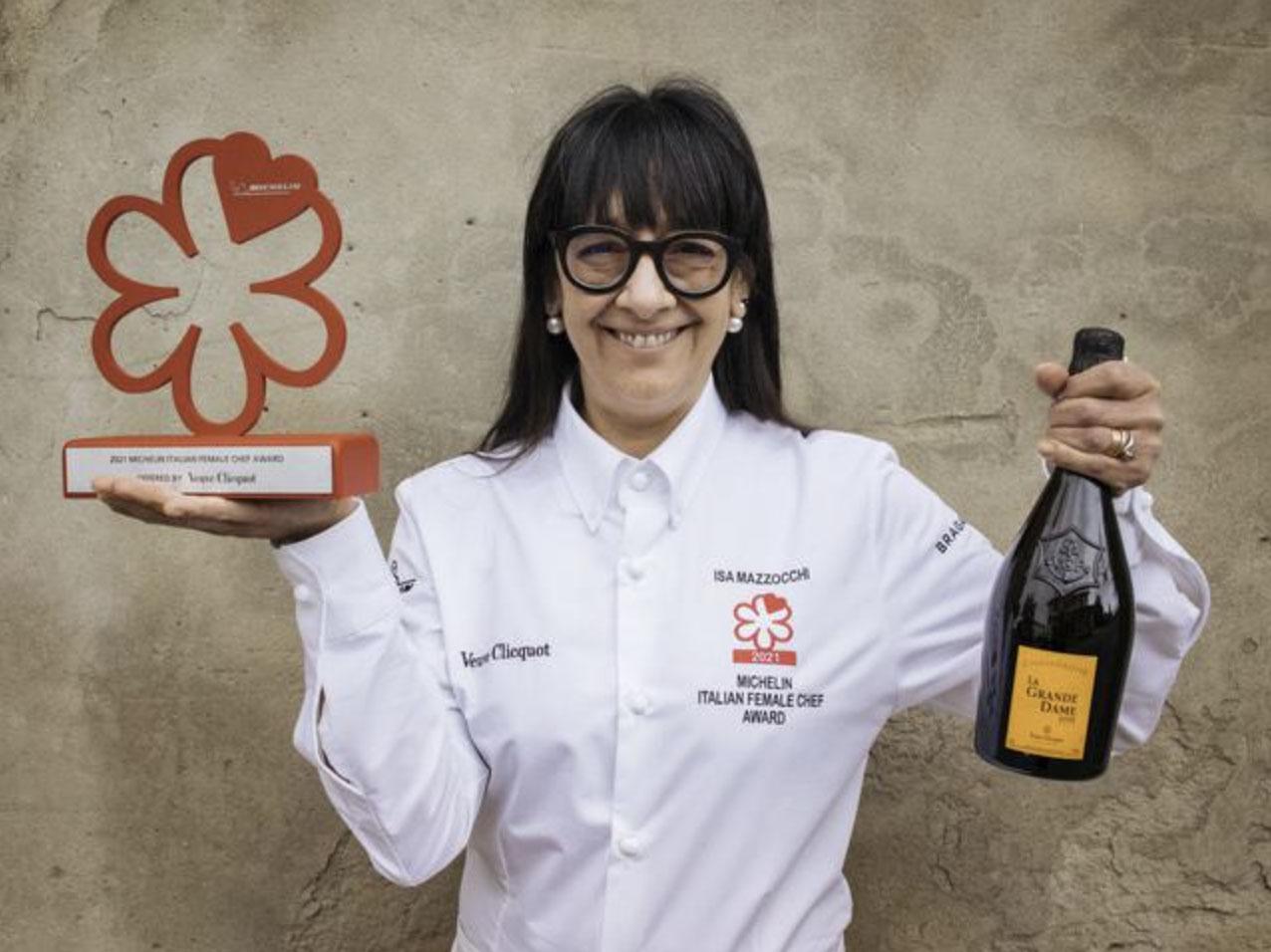Chef Isa Mazzocchi, Ristorante La Palta, Borgonovo Valtidone, vince il premio il Premio Michelin Chef Donna 2021