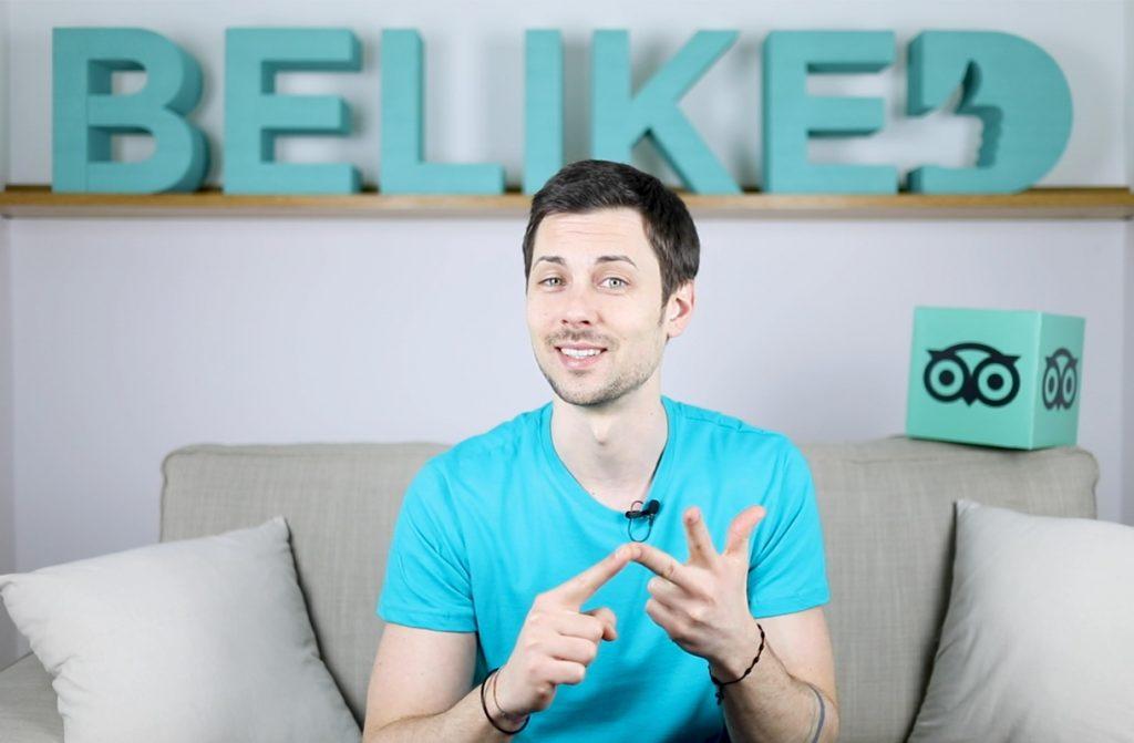 Marco Valentinsig di Beliked: corso sull'utilizzo di Tripadvisor nel marketing