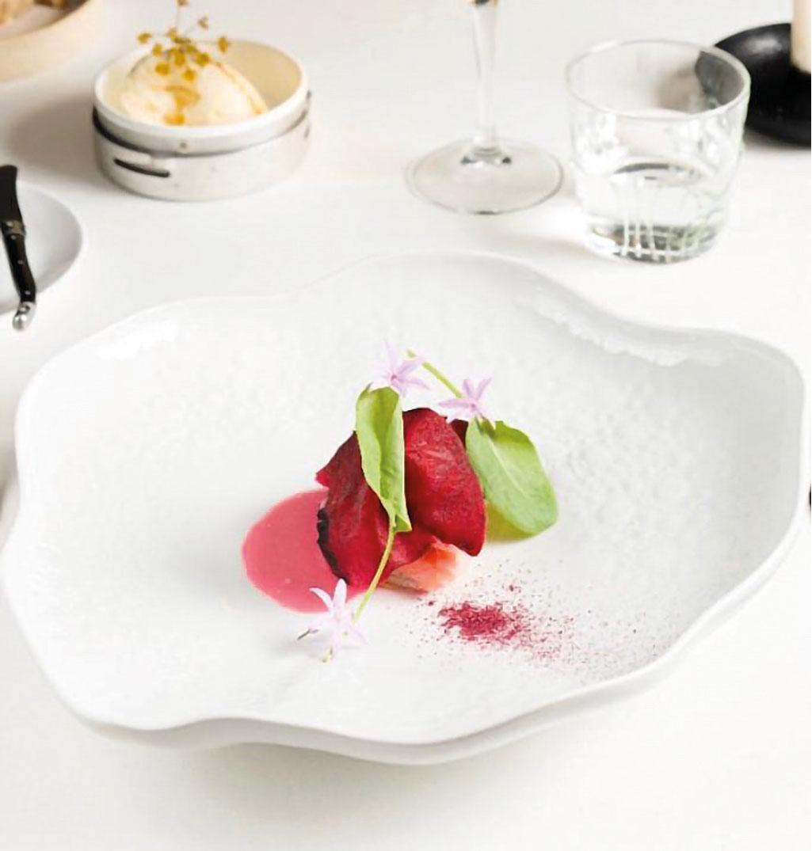 Filetto di trota Silana con mele selvatiche dello chef Simone Cantafio