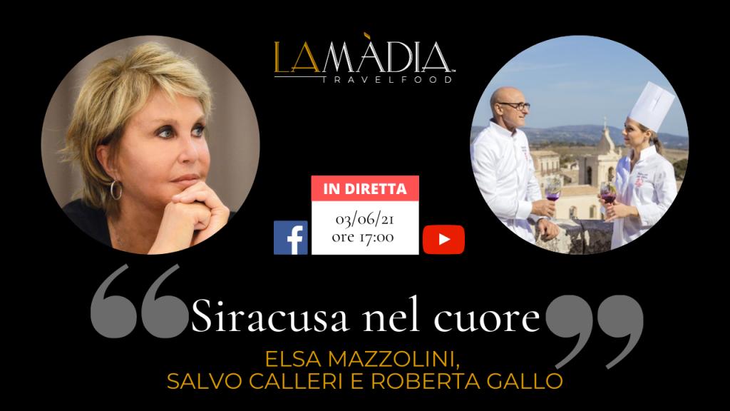 Siracusa nel cuore: un incontro per la rubrica Parla con M.E. con Salvo Calleri e Roberta Gallo del ristorante Regina Lucia di Siracusa